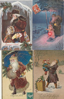 PERE NOEL 4 CARTES 1913 .... - Other