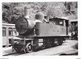 CPM 48 FLORAC Train Locomotive à Vapeur 120-020 T N°325 Des CFD En 1953 VOIR DOS - Florac