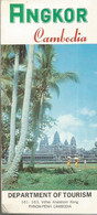 GU / Advertising Tourism Guide  TOURISME  / Guide PLAN Dépliant CAMBODGE   ANGKOR Cambodia  PNOM-PENH TOURISM - Tourism Brochures