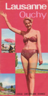 LAUSANNE OUCHY 1956 - Tourism Brochures