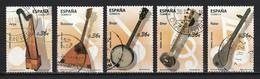 Espagne 2012 : Timbres Yvert & Tellier N° ???? ( 5 Timbres Oblitérés + Mêmes Timbres Se Tenant En Bande Oblitérés). - 2011-... Usati