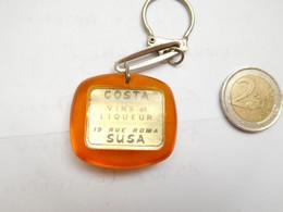 Beau Porte Clés , Costa , Vin De Liqueur à Susa, Suse , Italie - Key-rings
