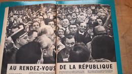 De  Gaulle, Brigitte Bardot  ,extrait De Page De Paris Match - Historical Documents