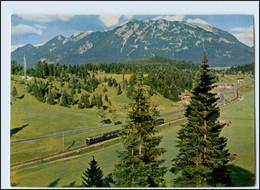 T1080/ Deutsche Bundesbahn AK  Linie Garmisch - Mittenwald  Eisenbahn  - Unclassified