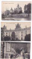 Lot De 3 CPA Château De Verteuil, Charente - Altri Comuni