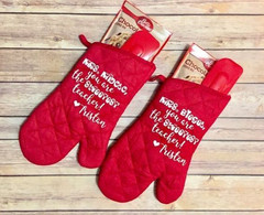 Oven Mitts, Bakery Oven Glove, Cotton Promotional Oven Mittens - Otros