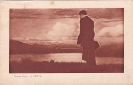 Oreste Pizio - Il Poeta, Viaggiata 1931 - Paintings