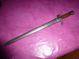 BAÏONNETTE BERTHIER SECOND TYPE 1917 - Knives/Swords
