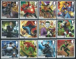 GROSSBRITANNIEN GRANDE BRETAGNE GB 2021 DC COLLECTION SET OF 12V USED SG 4526-37 MI 4775-86 YT 5301-12 - Used Stamps