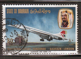 Bahrain 1976 Single 80 Fils  Stamp From Concorde Set  In Fine Used. - Bahrein (1965-...)