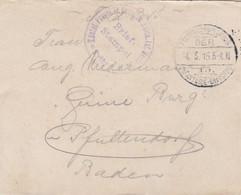 Feldpostbrief Mit Inhalt - Kgl. Preuss. Inf. Regt. 161 - Nach Pfaffendorf - 1915 (58105) - Covers & Documents