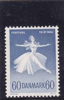 Denmark 1962 MNH Celebrating Ballet- And Music Festival - Covers & Documents
