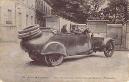 Guerre 1914 Automobile Blindée Allemande Mercédès - Ausrüstung