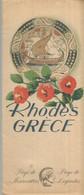 GU / Advertising Tourism Guide  TOURISME  / Guide PLAN Dépliant RHODES GRECE Greece - Tourism Brochures