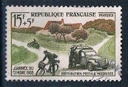 1958 Stamp's Journey YT 1151 - Gebraucht
