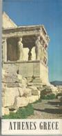 GU / Advertising Tourism Guide  TOURISME  / Guide PLAN Dépliant ATHENES GRECE Greece - Tourism Brochures