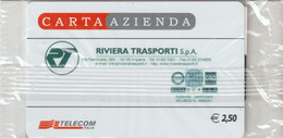 36-Carta Azienda-Riviera Trasporti-Nuova In Confezione Originale - Unclassified