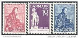 DENEMARKEN 1938 Thorvaldsen Serie PF-MNH-NEUF - Unused Stamps
