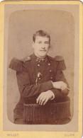 27e Régiment  Photographie Ancienne De Millot Officier En Format CDV (Carte De Visite) N° 13063 - War, Military