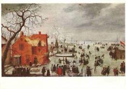 Hendrik Averkamp - Eislandschaft - Ice-landscape - Couche De Glace - Paintings