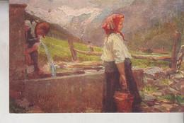 Pittura Quadri  Pittore Bazzaro Acqua Fontis - Paintings