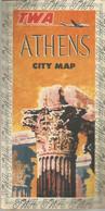 GU / Advertising Tourism Guide  TOURISME  / Guide Touristique  Dépliant  ATHENS   GRECE Greece Plan MAP ATHENEN - Tourism Brochures