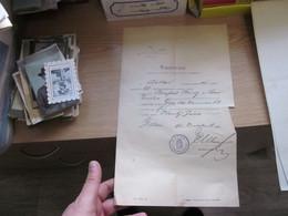 Detta Tanusitvany 1895 - Historical Documents