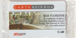 52-Carta Azienda-Bar Florense-Nuova In Confezione Originale - Unclassified