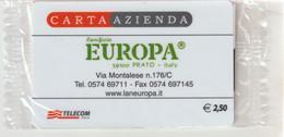 53-Carta Azienda-Lanificio Europa-Nuova In Confezione Originale - Unclassified
