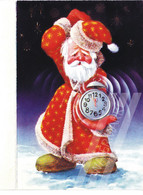 RUSSIA 1990 VINTAGE / Rarity / Happy New Year / Santa / 12 P.m. / 6 Pages - Book Type / Unused / VF - Santa Claus