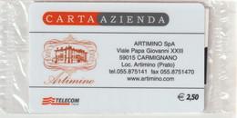 54-Carta Azienda-Artimino SpA-Nuova In Confezione Originale - Unclassified
