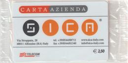 58-Carta Azienda-SICA-Nuova In Confezione Originale - Unclassified