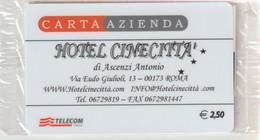 60-Carta Azienda-Hotel Cinecittà N°31066-Nuova In Confezione Originale - Unclassified