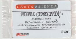 61-Carta Azienda-Hotel Cinecittà N°31067-Nuova In Confezione Originale - Unclassified