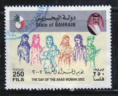 Bahrain 2002 Single 250 Fils  Stamp From Arab Women's Day Set In Fine Used - Bahrein (1965-...)