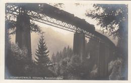 A924) Schwarzwald HÖLLSTEIG - RAVENNABRÜCKE Mit Altem ZUG - Top !! - Trains