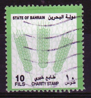Bahrain 2002 Single 10 Fils  Charity Stamp In Fine Used - Bahrein (1965-...)