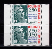 YV P2934A N** , Paire 2934 + 2933a Se Tenant - Unused Stamps