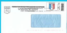Montimbrenligne Personnalisé FMNS Maître Nageur Sauveteur Toshiba - Personalized Stamps (MonTimbraMoi)