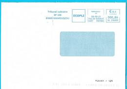 EMA HU 216800 Flamme Tribunal Judiciaire Mamoudzou Mayotte Marque De Tri TL0101/125 - EMA (Printer Machine)