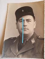 1939 1940 Service De Santé 3 Eme Section D Infirmiers Miltaire Sous Officier Officier Insigne WW2 Photo - War, Military