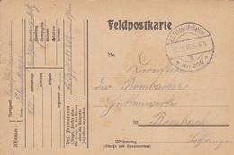 Feldpostkarte - Landsturm Bataillon I Metz - Nach Rombach - 1916 (58117) - Covers & Documents