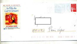 Pap Luquet Flamme Avon Illustré Fete Carre Senart - Prêts-à-poster:Overprinting/Luquet