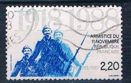 1988 Armistice 70th Anniversary YT 2549 - Used Stamps