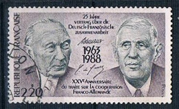1988 Franco German Cooperation YT 2501 - Used Stamps