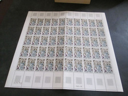 France Feuille Complète 1970 Neuf** Amiral De Coligny  YV N° 1744 - Full Sheets