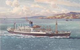 S.S. IXION -BLUE FUNNEL LINE - Dampfer