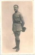 Photo Originale Miitaire Gradé Carte-photo - War, Military
