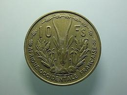 French West Africa 10 Francs 1956 - Kolonien