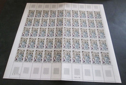 France Feuille Complète 1973 Neuf** Amiral De Cologny  YV N° 1744 - Full Sheets